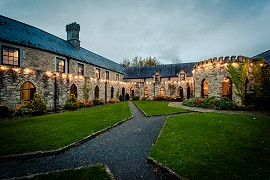 Accommodation in the Slieve Blooms Kinnitty Castle